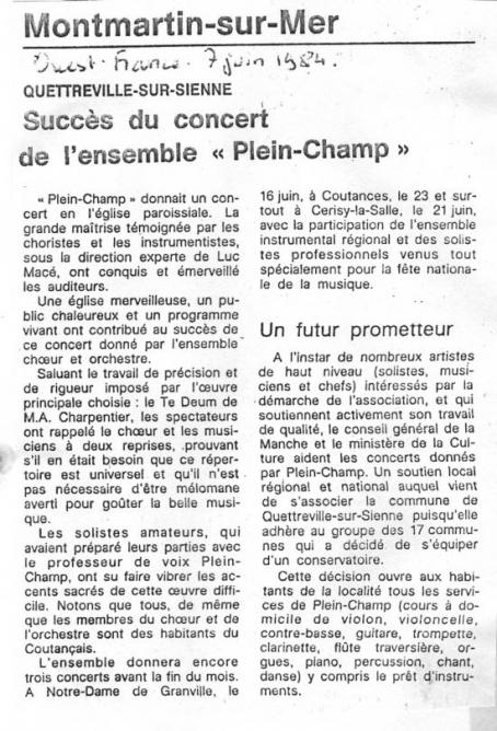 JUIN 1984